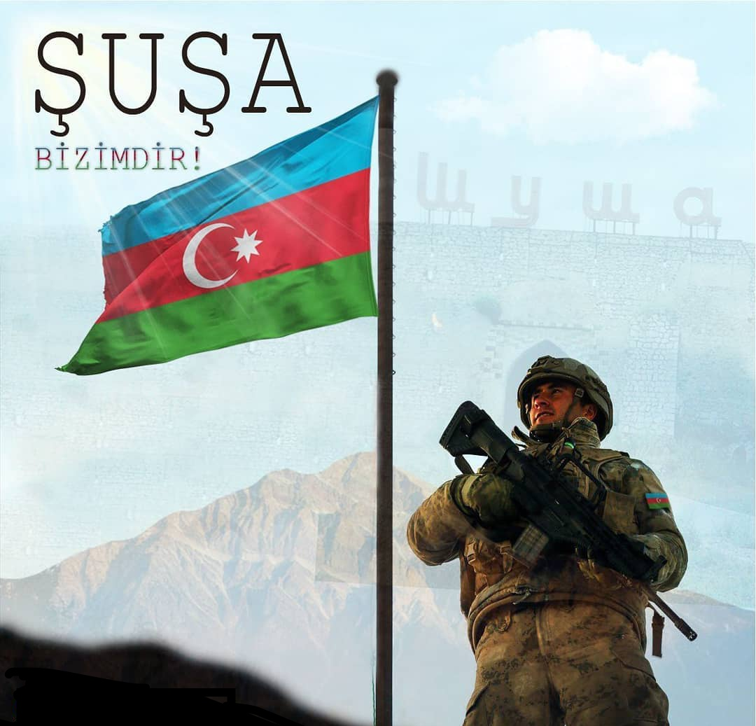 Shusha city liberated from occupation...